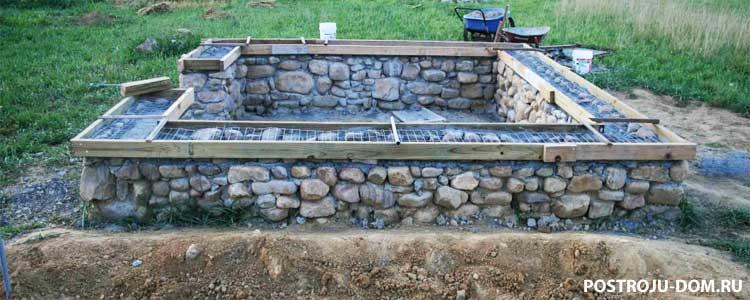 Как залить фундамент на дом своими силами