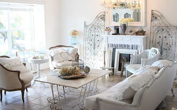 Country Living Decorating with White Country Living Gina