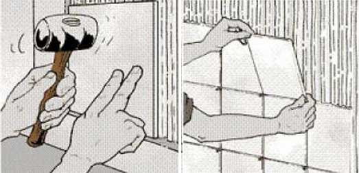 Облицовка печки плиткой своими руками