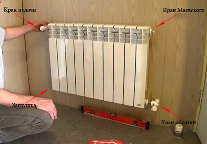 Как установить радиаторы отопления самостоятельно - Astro-athena.Ru