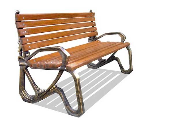 для садовой скамейки