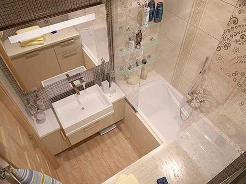 Какой цвет плитки выбрать в маленькую ванную