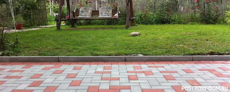 Как выбрать тротуарную плитку для садовых дорожек и дачи?