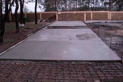 Участок бетон пластичность бетона п3
