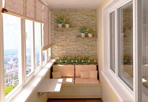 Картинки по запросу застекленный балкон фото